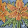 Asiatic Lilies by Kathy Mota