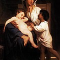 Asleep At Last by William Bouguereau