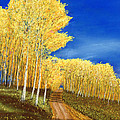 Aspen Road by George Burr