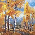 Aspen Stream by Robert Stump