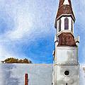 Aspiring Chapel Impasto by Steve Harrington