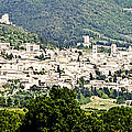 Assisi Italy - Medieval Hilltop City by Jon Berghoff