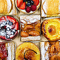 Assorted tarts and pastries by Elena Elisseeva