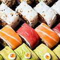 Assortment Of Sushi by Ilan Amihai