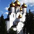 Assumption Cathedral Yaroslavl Russia by Linda Dunn