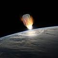 Asteroid Strike No.1  by Marc Ward