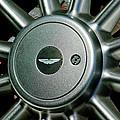 Aston Martin Db7 Wheel Emblem by Jill Reger