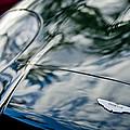 Aston Martin Hood Emblem 4 by Jill Reger