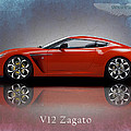 Aston Martin V12 Zagato by Mark Rogan