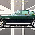 Aston Martin V8 Vantage by Guy Pettingell