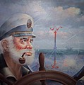 Astounding Sea Captain Original Or Map Captain 1987 by Yoo Choong Yeul