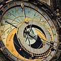 Astronomical Clock In Prague by Jelena Jovanovic