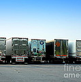 At A Truck Stop by Renee Trenholm