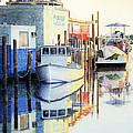 At Cortez Docks by Roger Rockefeller