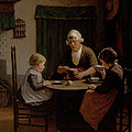 At Grandmothers by David Adolph Constant Artz