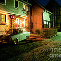 At Night In Thuringia Village Germany by Stephan Pietzko