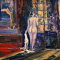 At The Bath by Adel Sansur