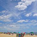 At The Beach 3 by Ellen Paull
