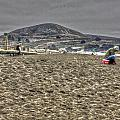 At The Beach At Pacifica by SC Heffner