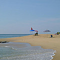 At The Beach by Ellen Paull
