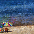 At The Beach Photo Art 04 by Thomas Woolworth