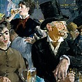 At The Cafe Concert by Edouard Manet