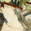 At The Circus Fernando by Toulouse-Lautrec