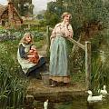 At The Duck Pond by Henry King