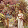 At The Garden Gate by William Affleck