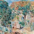 At The Garden In Bretagne by Pierre-Auguste Renoir