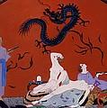 At The House Of Pasotz by Georges Barbier