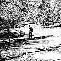 At The Lake-42 by David Fabian