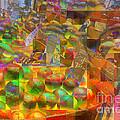 At The Market - Oranges by Miriam Danar