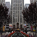 At The Rockefeller Center by Christiane Schulze Art And Photography