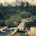 At The Shallow by Isaak Ilyich Levitan