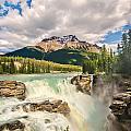 Athabasca Falls by Tracy Munson