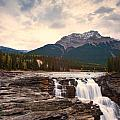 Athabasca Falls Waterfall by U Schade