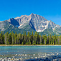 Athabasca River With Mountains by Panoramic Images