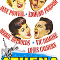 Athena, Us Poster, From Top Left by Everett