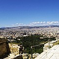 Athens View From Acropol by Kostas Kanellopoulos