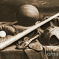 Athletic Equipment 1940 by Padre Art