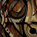 Atlanta Earth Abstract Art by Mary Clanahan