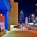 Atlanta Outside Cnn by Frozen in Time Fine Art Photography