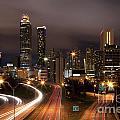 Atlanta Skyline At Dusk by Bill Cobb