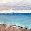 Atlantic Beach Fishing by Deborah Naves