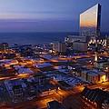 Atlantic City At Dawn by Joan Reese