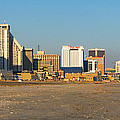 Atlantic City At Sunset by Olivier Le Queinec