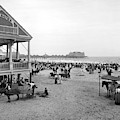 Atlantic City Beach, C1900 by Granger