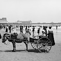 Atlantic City Beach, C1901 by Granger