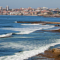 Atlantic Ocean Coast In Cascais And Estoril by Artur Bogacki
